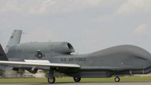 """一次飞行可覆盖700万平方公里区域 美""""全球鹰""""开始在日部署"""