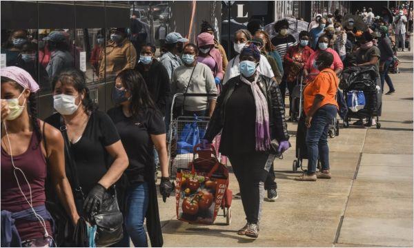 英媒:疫情或致5400万美国人挨饿 美南部地区困境最严重