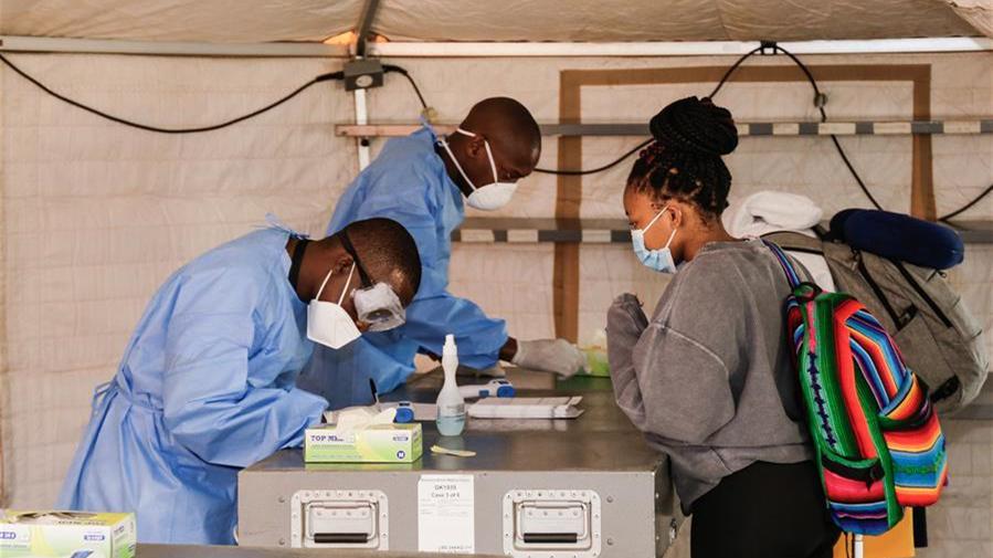 非洲新冠確診病例數超15.8萬