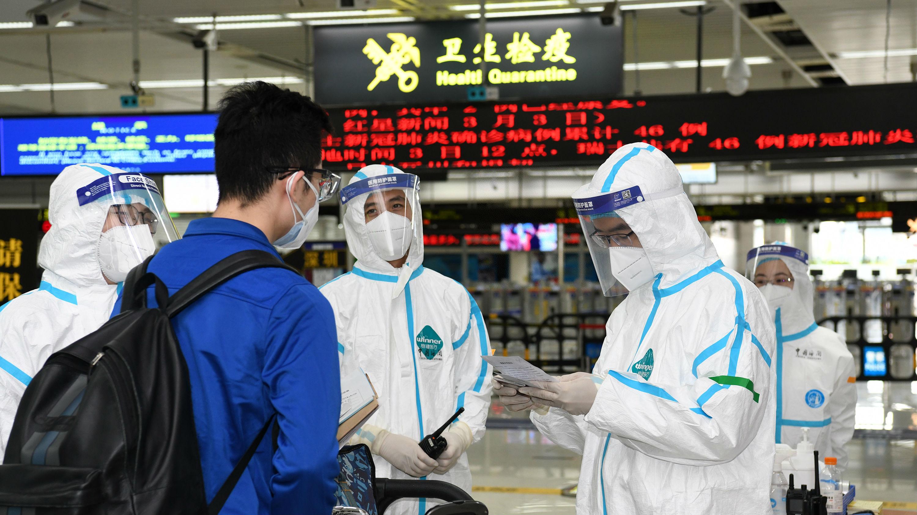 """外媒关注中国建立""""快捷通道"""" 有序恢复中外人员往来"""