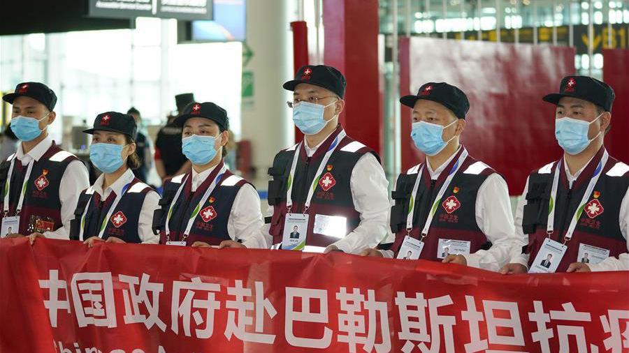 中国医疗专家组赴巴勒斯坦帮助抗击疫情