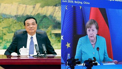 德媒评述:中德总理视频会晤聚焦经济合作