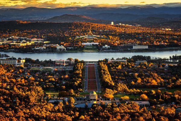 澳大利亚首都堪培拉(视觉中国)