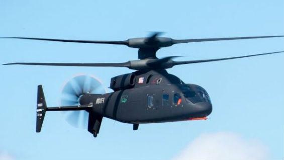 """未来或取代""""黑鹰""""和""""阿帕奇"""" 美军新型直升机创速度纪录"""