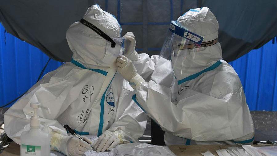 北京:探访海淀区区级核酸检测采样点
