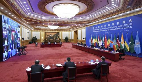 """中国全力支持非洲抗疫获赞誉:""""我们心存感激,感到振奋"""""""