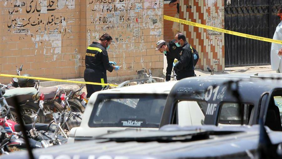 巴基斯坦卡拉奇发生手榴弹袭击事件致1死10伤