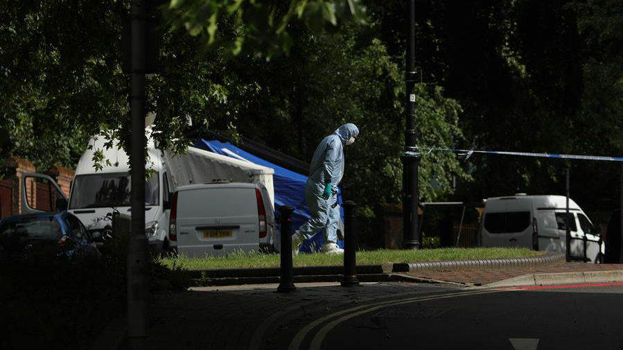 英警方宣布雷丁市持刀袭击事件为恐怖行为