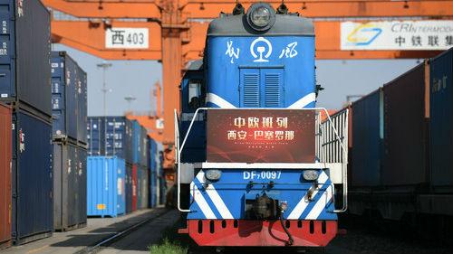 西媒:中欧班列填补疫情期间货运需求 数量创纪录