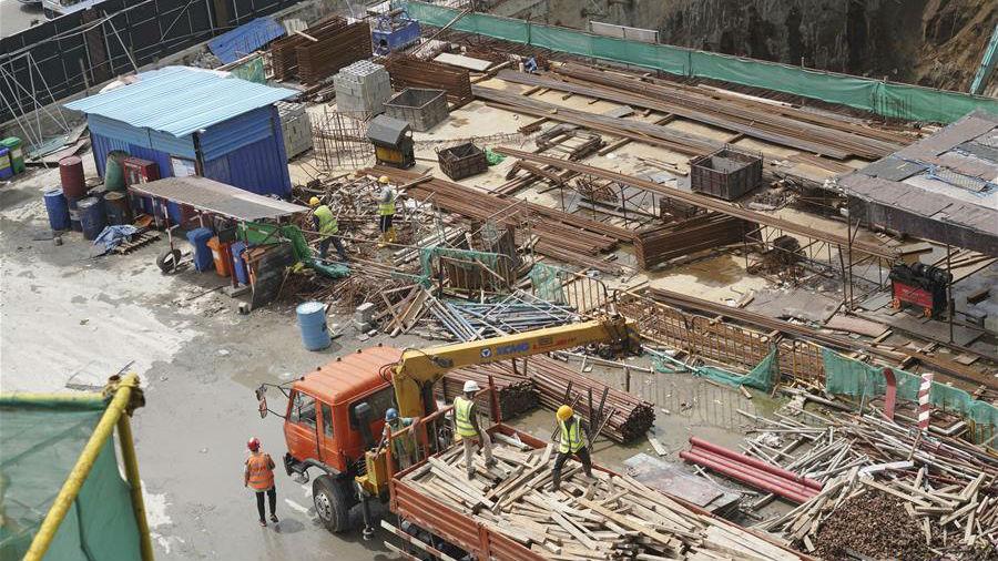 中国港湾科伦坡房建项目复工目击记
