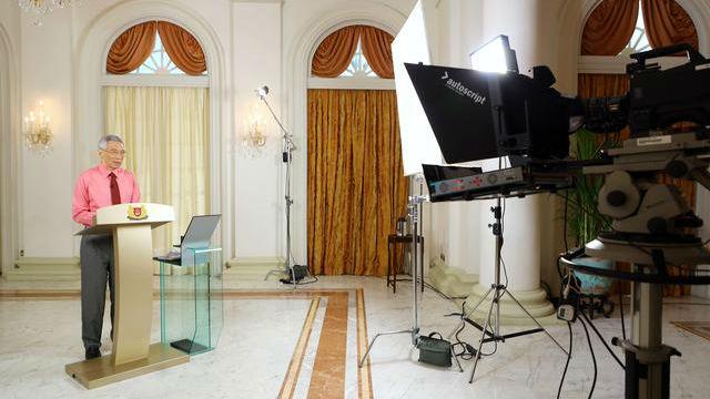 新加坡总统宣布解散国会启动大选