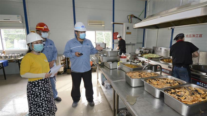 北京丰台:强化消毒防疫工作 保障务工人员安全