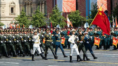 外媒:中国军人亮相红场阅兵 俄方予以高度评价