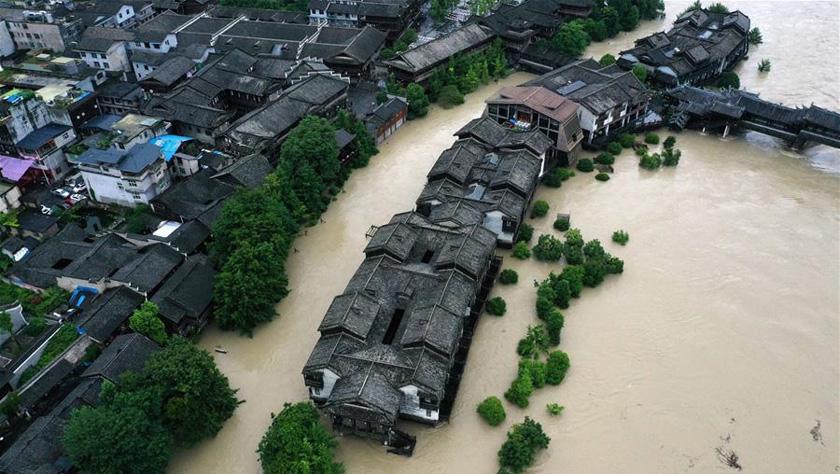 重庆黔江遭遇强降雨袭击