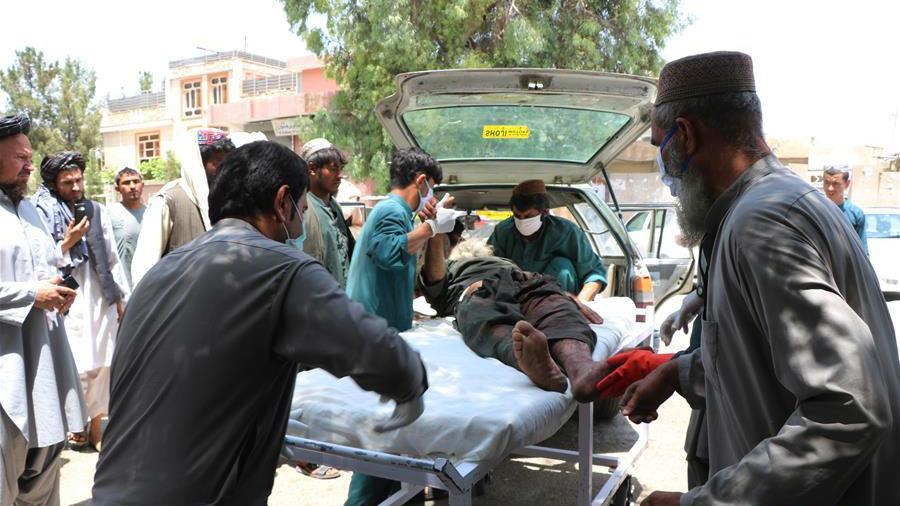 阿富汗南部赫尔曼德省一市场遭袭 至少23人丧生