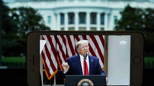 民调支持率落后于拜登 美媒曝特朗普团队试图改革竞选活动_德国新闻_德国中文网