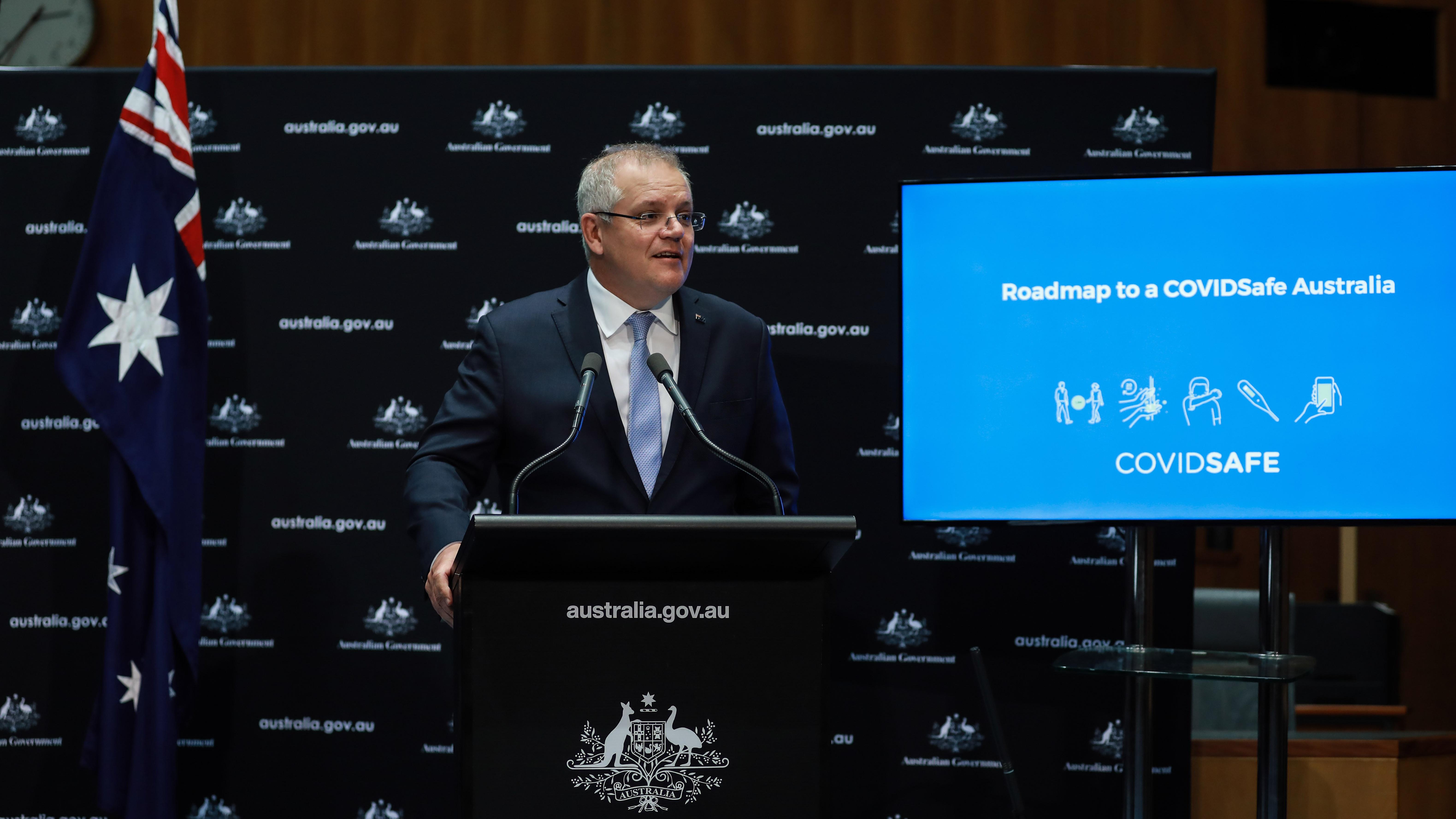 """澳媒:澳大利亚总理谈""""台海冲突""""字斟句酌"""