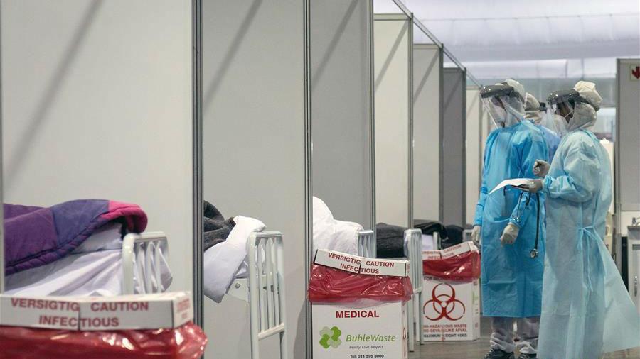 南非新冠确诊病例近17万