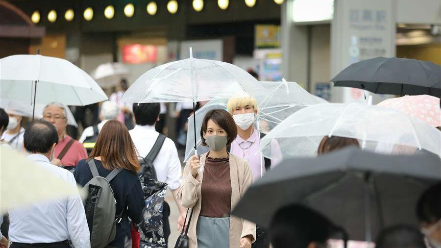 日本新增确诊病例时隔两月再超200例 东京都连续两天超百例