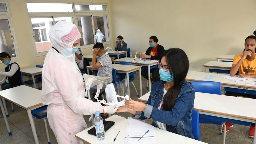疫情下的入学考试