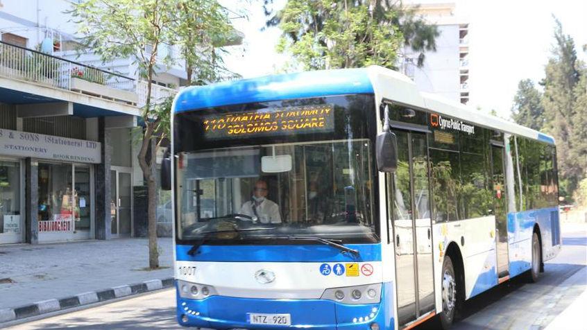 """来自中国的155辆""""抗疫客车""""投入塞浦路斯公交系统"""