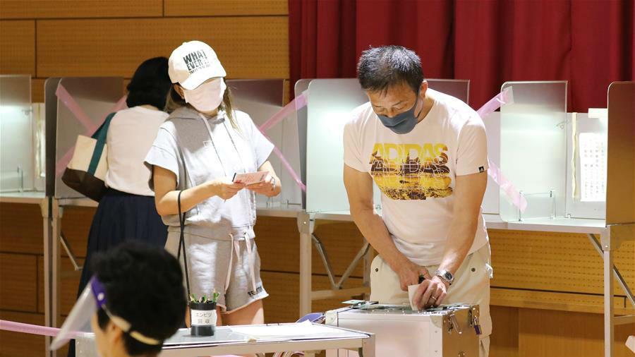 日本举行东京都知事选举