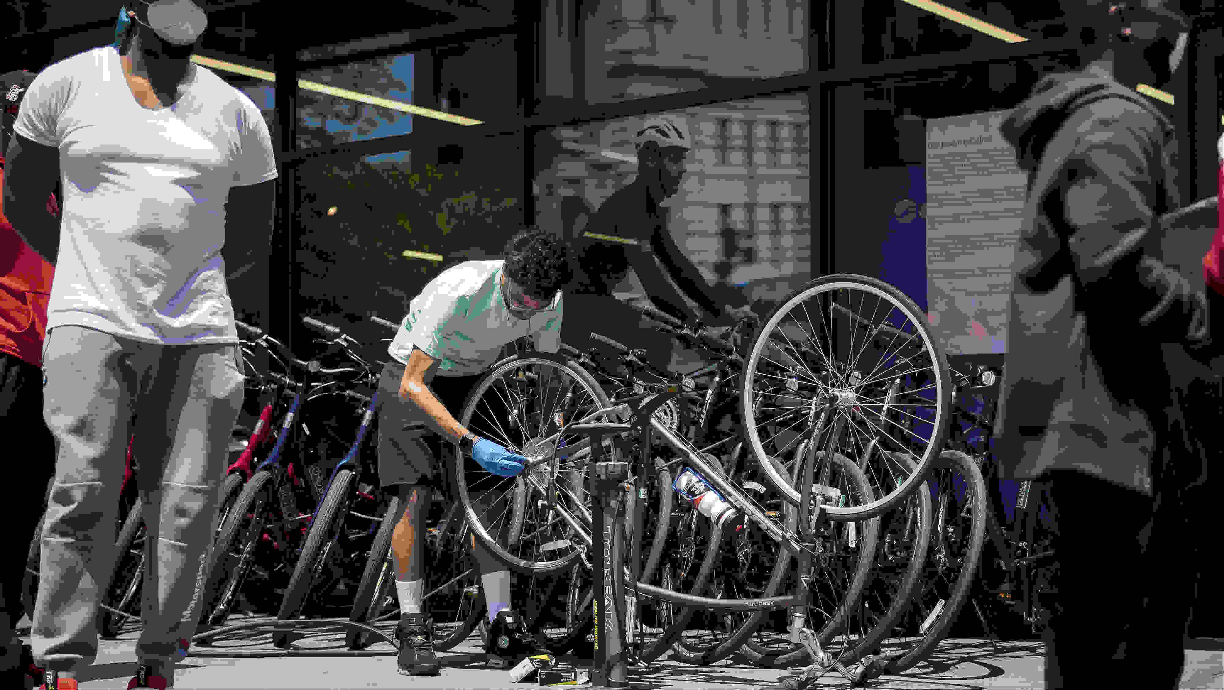 港媒:疫情改变出行方式,中国产自行车在美国供不应求