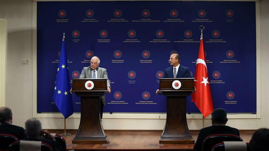 土耳其外长:欧盟如实施新制裁土方将采取反制措施