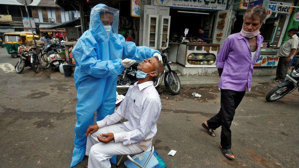法媒分析:印度为何成为亚洲疫情新震中