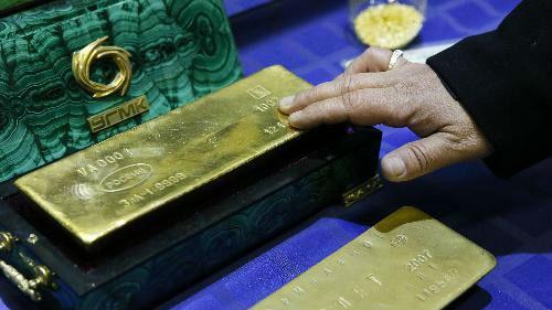 外媒:金价大涨气价暴跌 俄黄金出口收入超过天然气