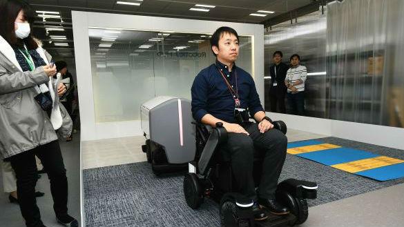 日本电动轮椅将登陆中国 瞄准老年人市场