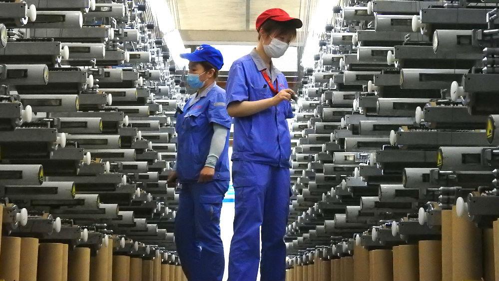 """德媒:世界期盼中国经济走势""""V""""起来"""