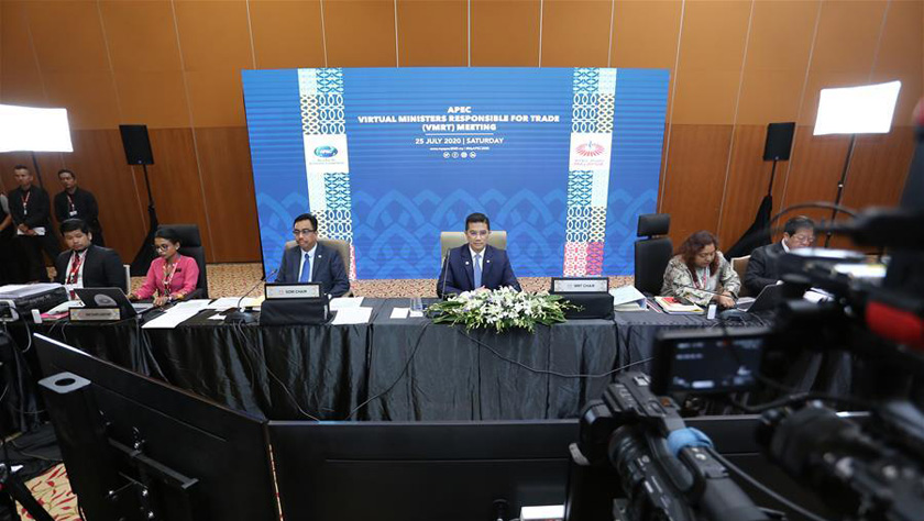 APEC成员贸易部长会议表示将加速推动区域经济复苏