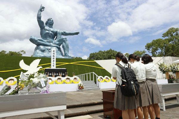 长崎低调纪念核爆炸75年 安倍将不参拜靖国神社_德国新闻_德国中文网