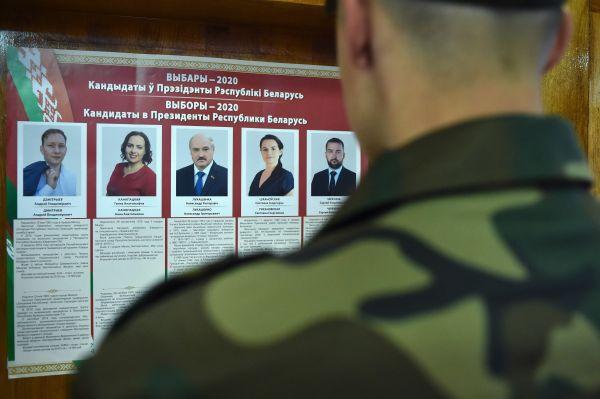 外媒:白俄罗斯总统卢卡申科竞选对手已逃至立陶宛