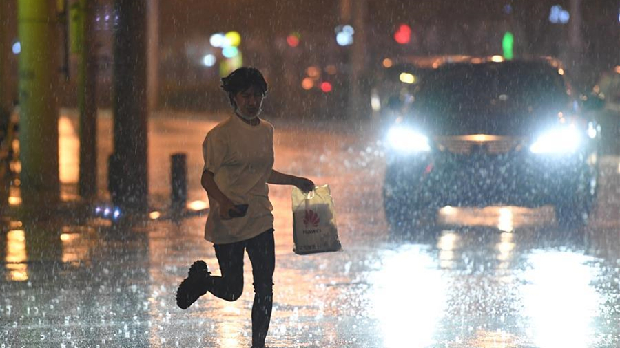 北京迎来降雨