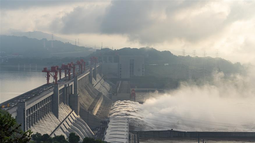 长江水利委升级发布岷江洪水红色预警