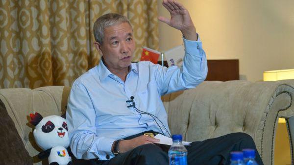 薩基會理事長于再清受邀參加成都大運會倒計時一周年活動