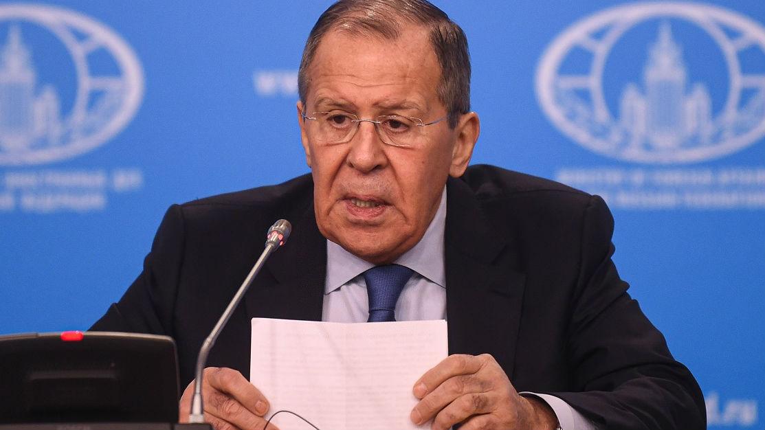 """俄外长痛批美""""域外制裁"""":""""不能只靠一个国家高喊着让所有人都听它的"""""""