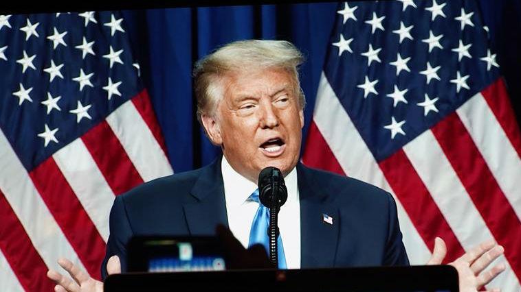 特朗普正式成为2020年美国共和党总统候选人 _德国新闻_德国中文网