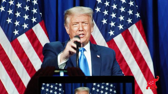 """共和党大会收视低迷 外媒:想看""""特朗普秀""""的美国人减少_德国新闻_德国中文网"""