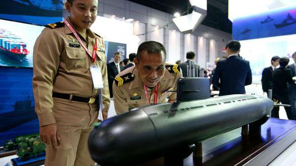 外媒:泰国下议院批准海军增购中国柴电潜艇