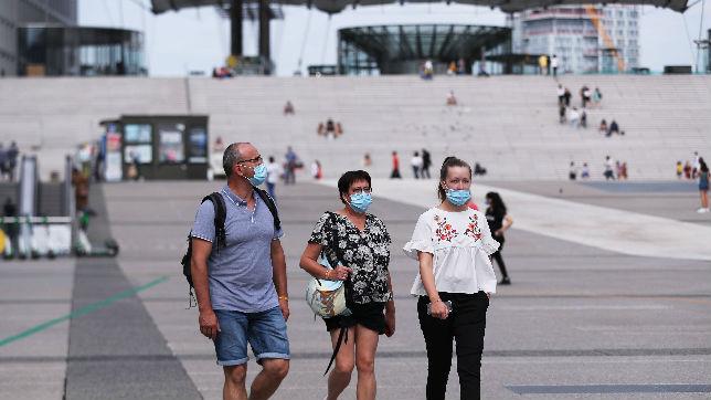 外媒:法国巴黎居民从28日开始必须戴口罩_德国新闻_德国中文网