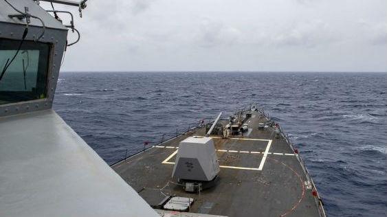 中国出动海空兵力坚决驱离擅闯西沙美舰