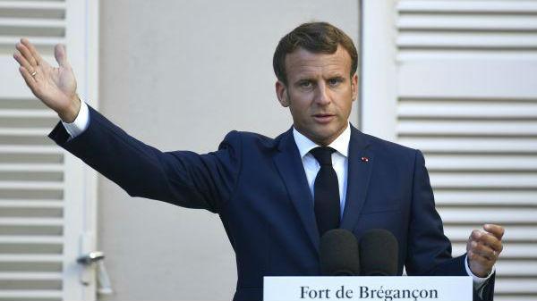 """法国总统称在东地中海已设定与土耳其的""""红线""""_德国新闻_德国中文网"""