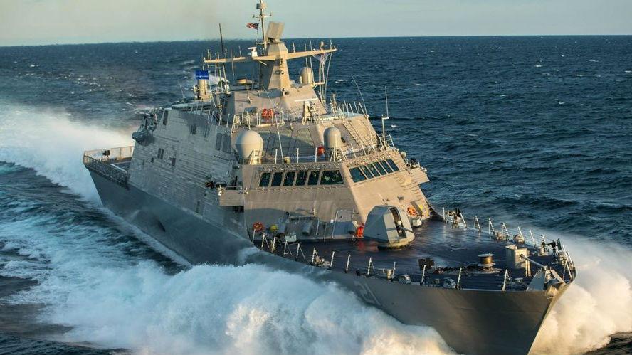 """美媒:为威慑中国,美建造濒海战舰速度""""前所未有"""""""
