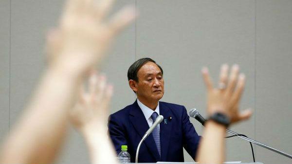 菅义伟正式宣布竞选日自民党总裁 称将全力继承安倍路线