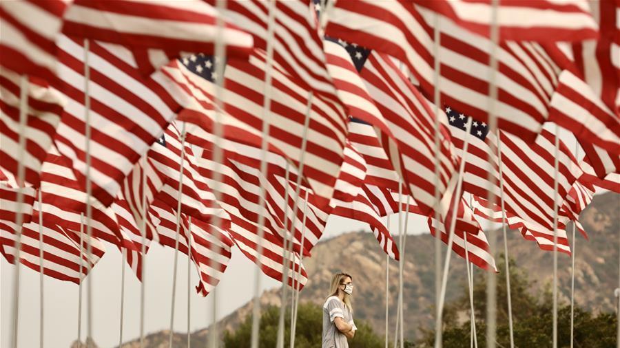 """美国纪念""""9·11""""事件19周年"""