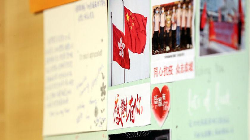 """""""为了香港同胞能早日摘下口罩自由呼吸""""——内地核酸检测支援队员工作素描"""