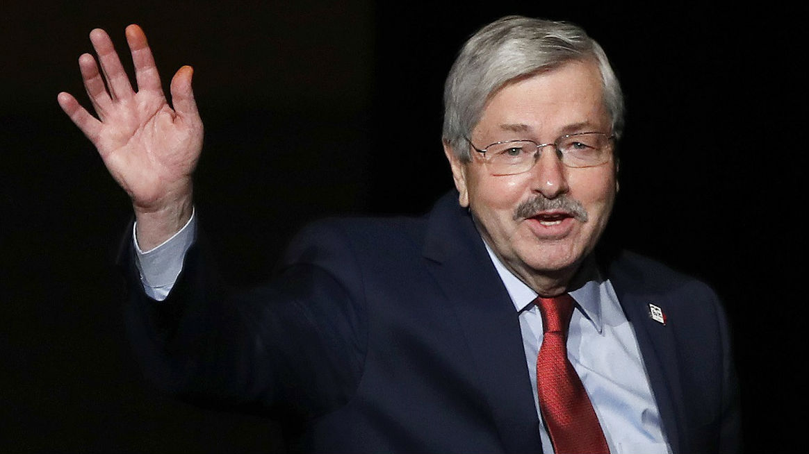 外媒猜测美驻华大使离任原因:帮特朗普撑住艾奥瓦州……
